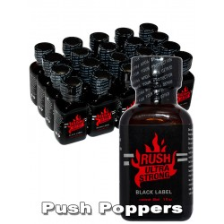 Poppers Rush Ultra Strong Black Label 30 ml