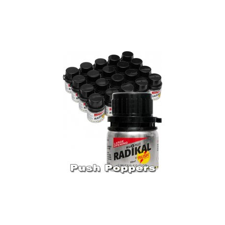 Poppers Rush Radikal silver label 30ml