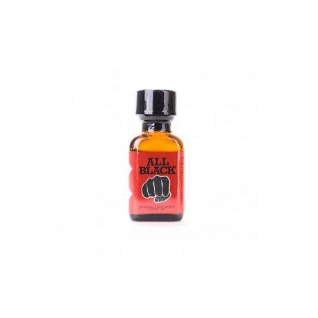 Poppers XL All Black 24ml