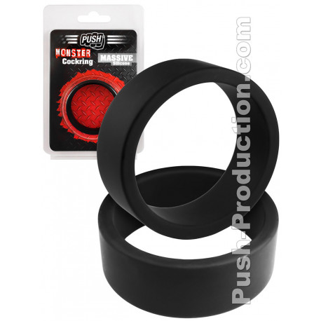 Monster Cockring Push Massive Silicone 45mm